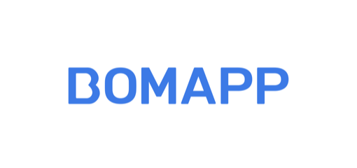 bomapp 기업 로고