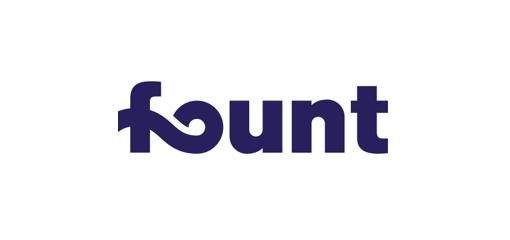 파운트 기업 로고