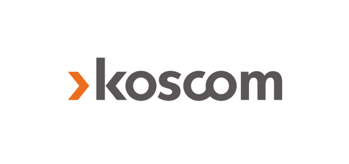 koscom 기업 로고