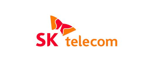 sk텔레콤 기업 로고